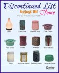 Scentsy discontinued august 2016 warmers