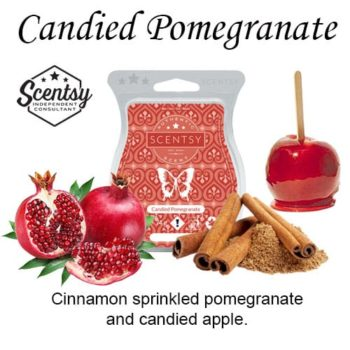 Candied Pomegranate Scentsy Wax Bar