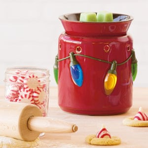 Holiday Lights Scentsy Wax Warmer The Candle Boutique