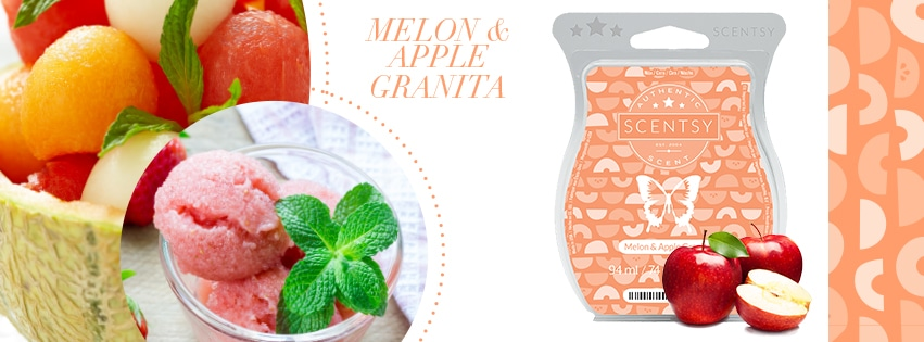 Melon and Apple Granita Scentsy Bar