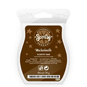 Scentsy Mochadoodle Scented Wax Bar