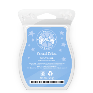 Scentsy coconut cotton scented wax bar