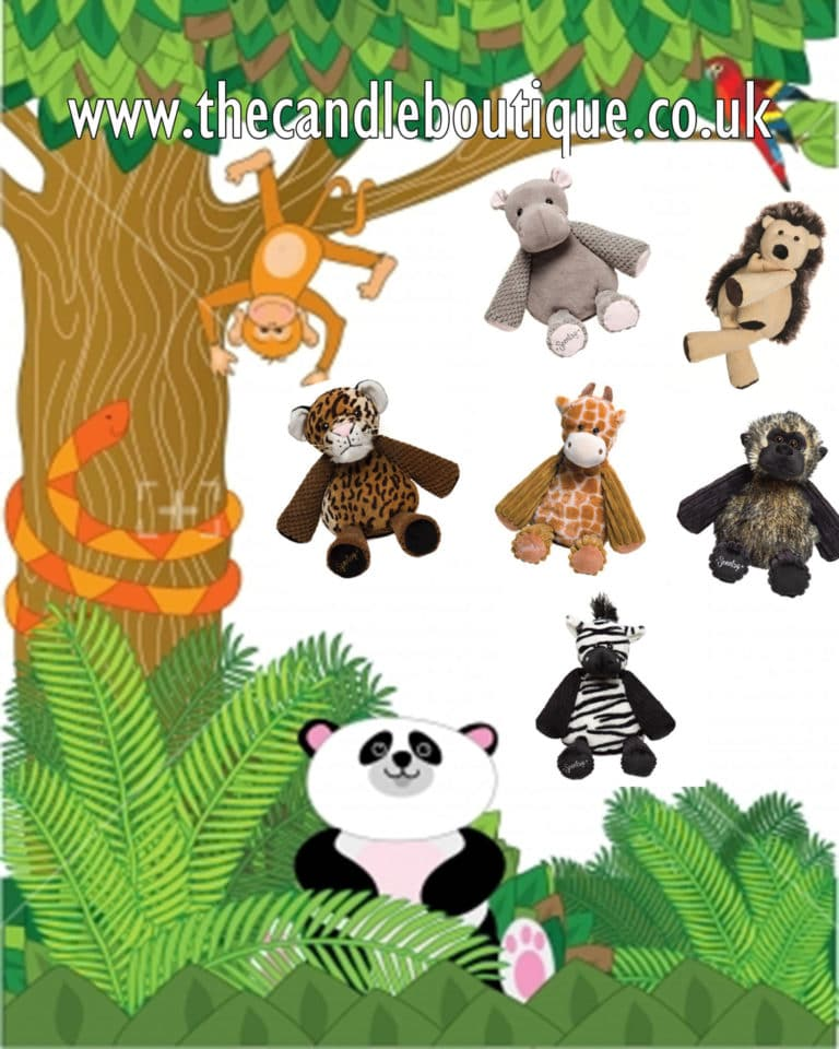 Introducing the New Scentsy Safari Scented Buddies