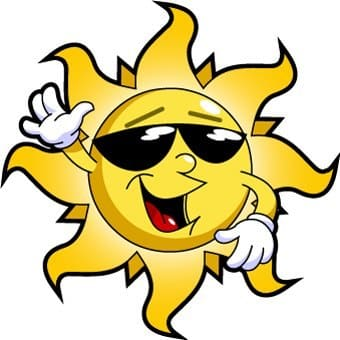 The Sun Has Got His Hat On!!