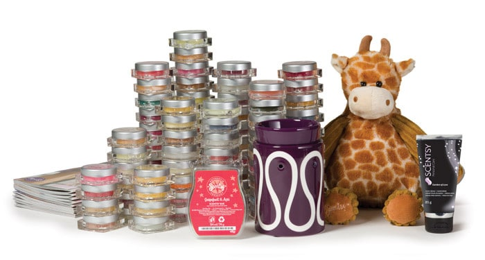 Scentsy UK, Ireland starter kit 2013