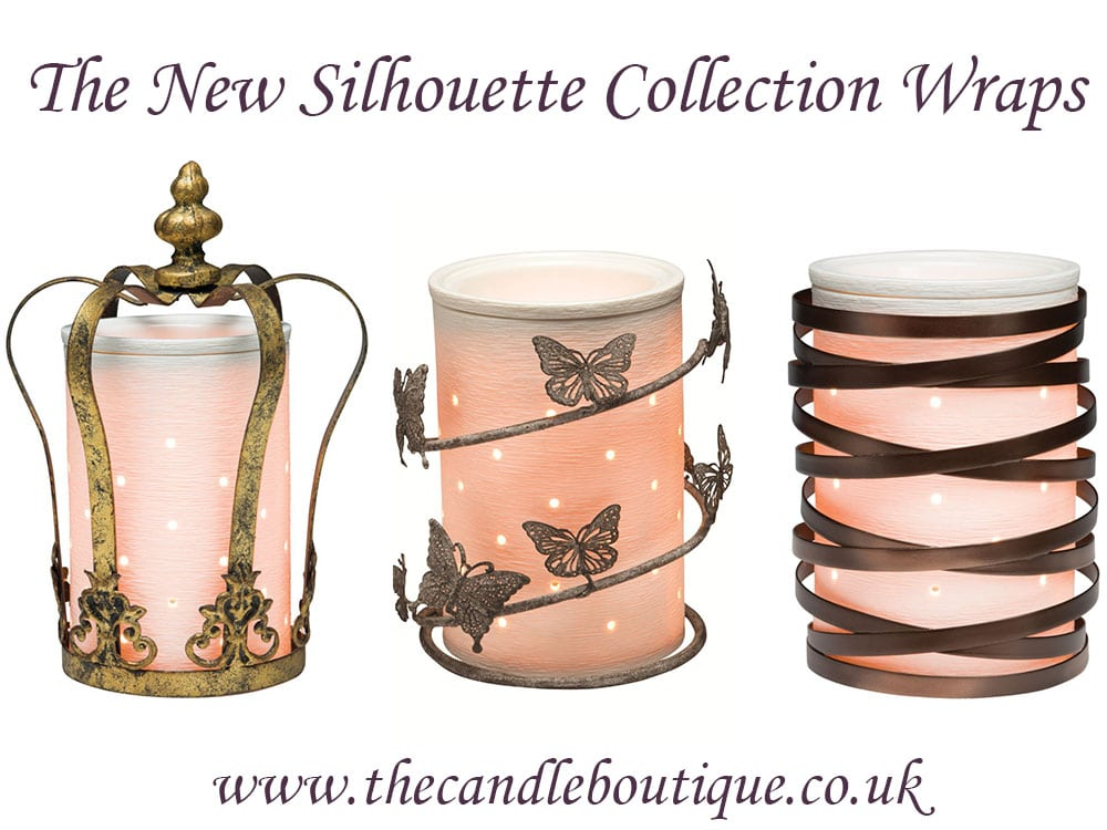 Scentsy silhouette collection new wraps