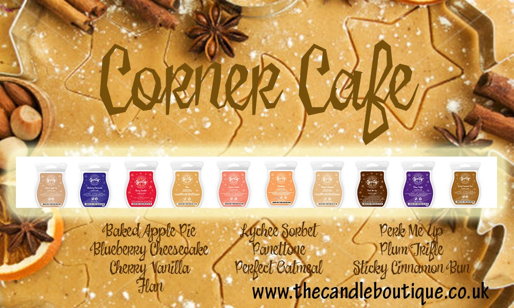 Scentsy Corner Cafe Collection