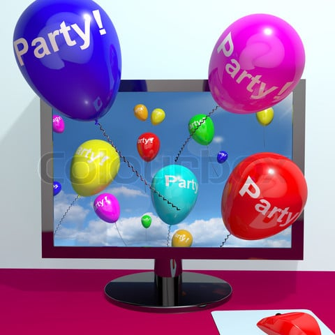 What is An Online Facebook Party?
