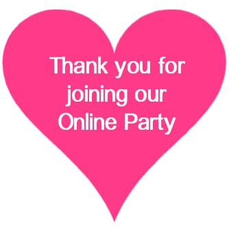 thank you online party