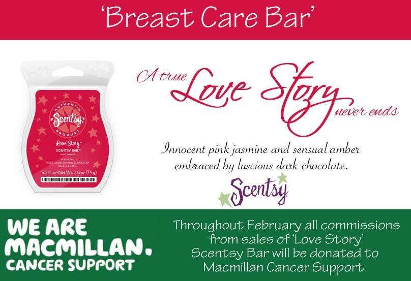 MacMillan Fundraising With Scentsy