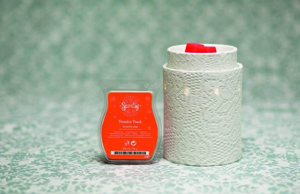 scentsy lace and paradise punch