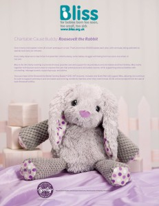 Scentsy Roosevelt the Rabbit Supports BLISS