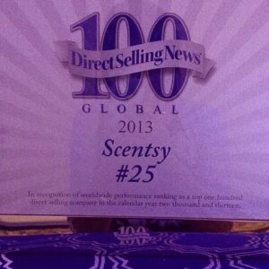 scentsy number 25 direct selling company