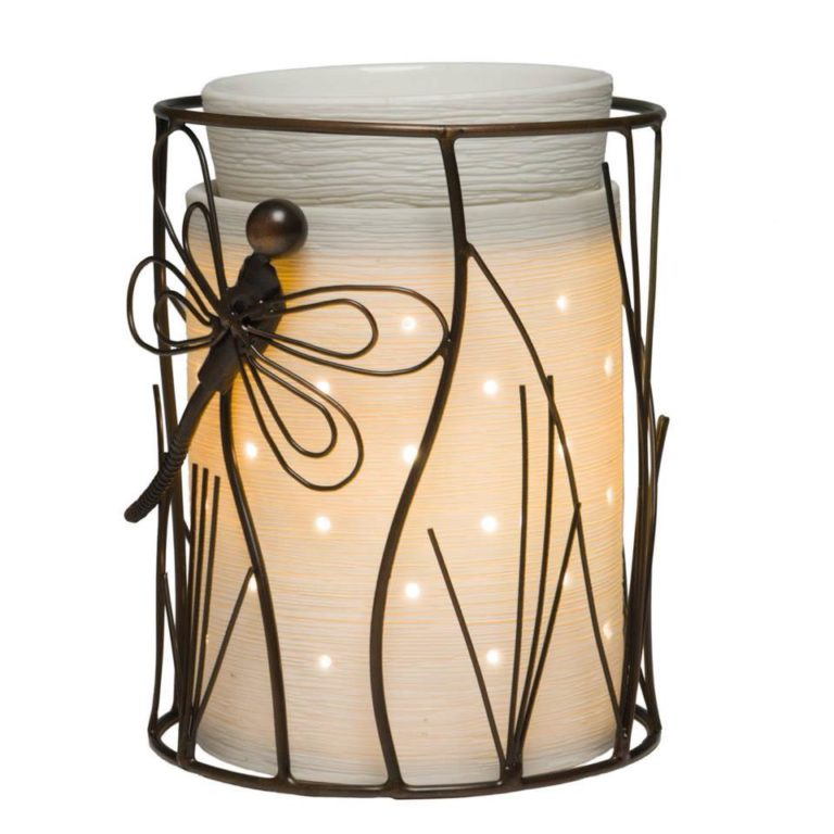Scentsy Dragonfly Silhouette Collection Wax Warmer
