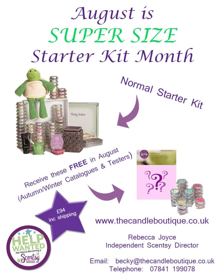 Join Scentsy and Receive More Kit For Your Money!