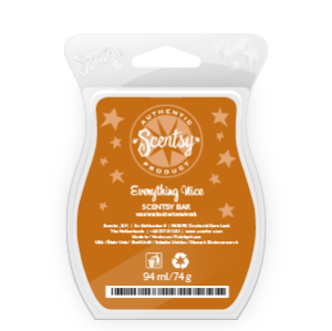 Everything Nice Scentsy Scented Wax Bar