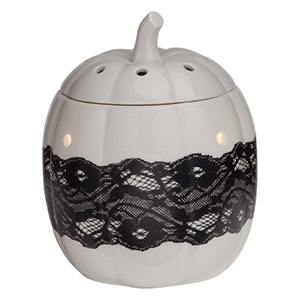 Pumpkin Lace Scentsy Wax Warmer