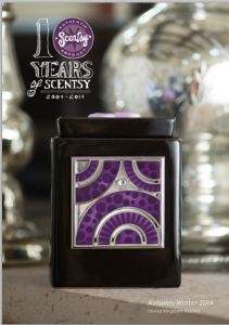 Scentsy New UK Autumn Winter Catalogue 2014