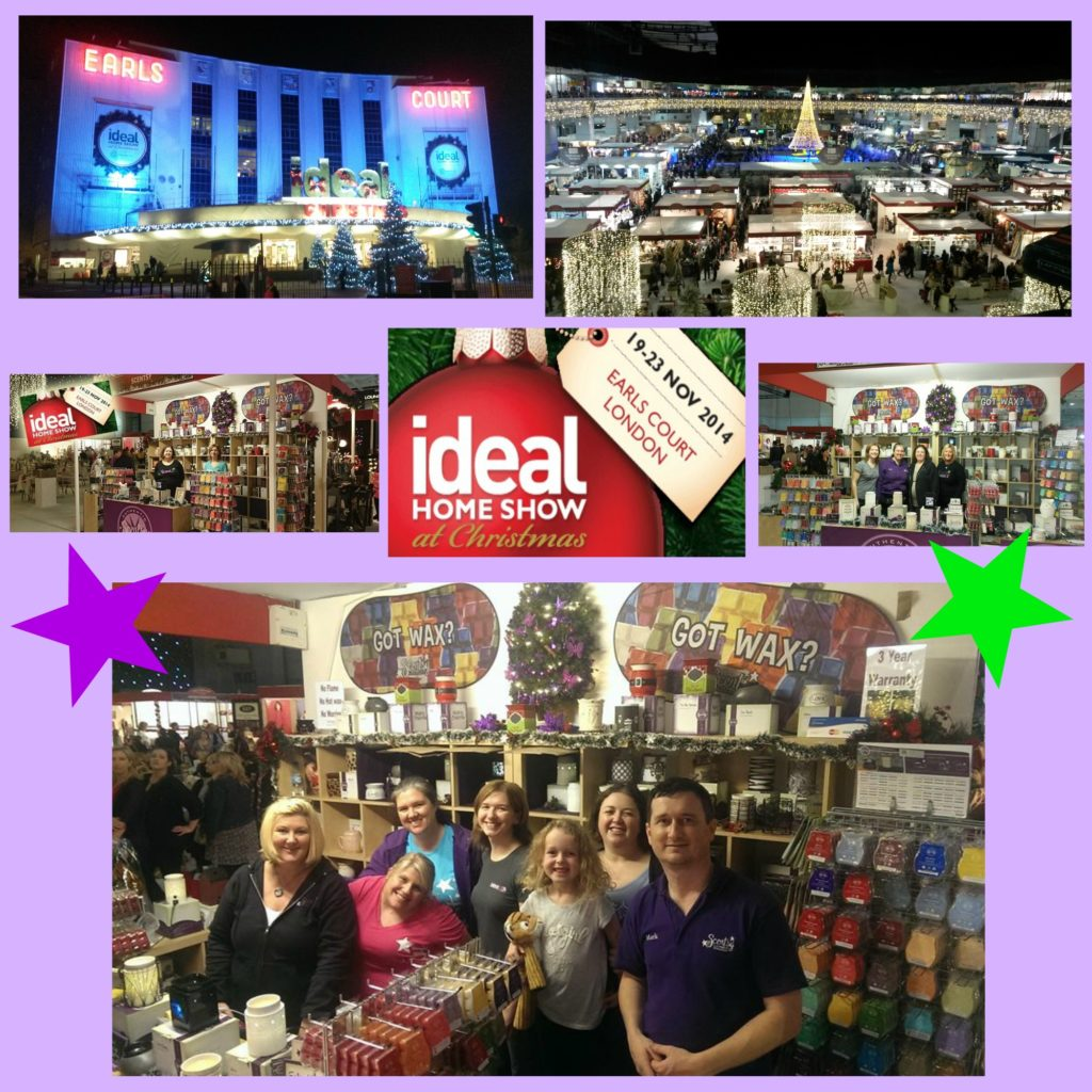 Scentsy at the Ideal Home Show