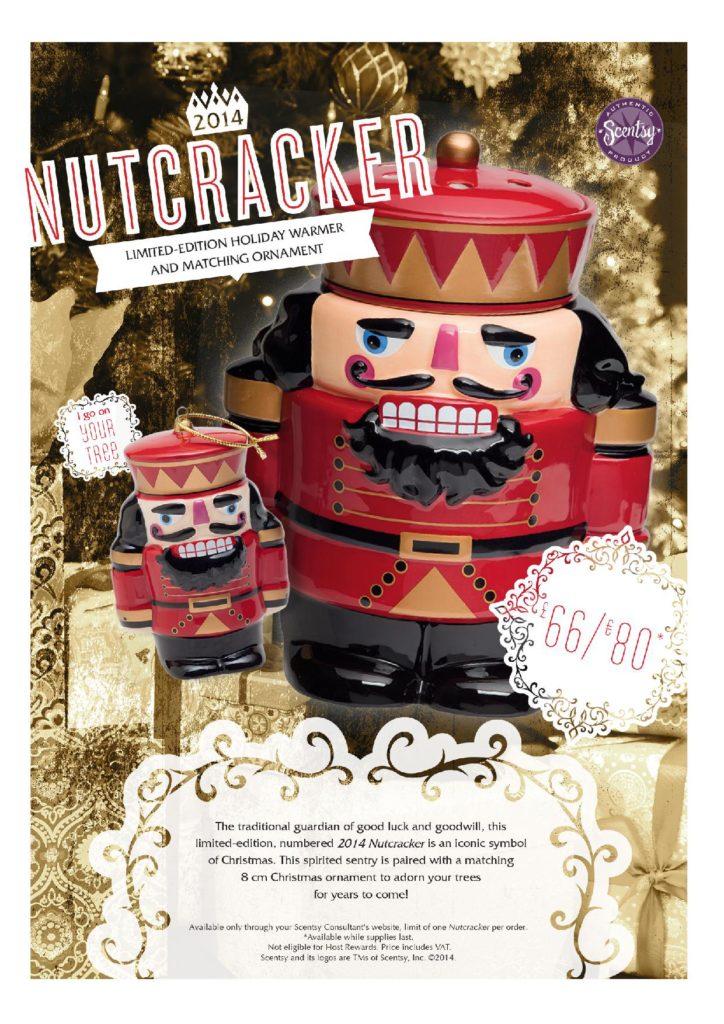 Scentsy Limited Edition Nutcracker Warmer