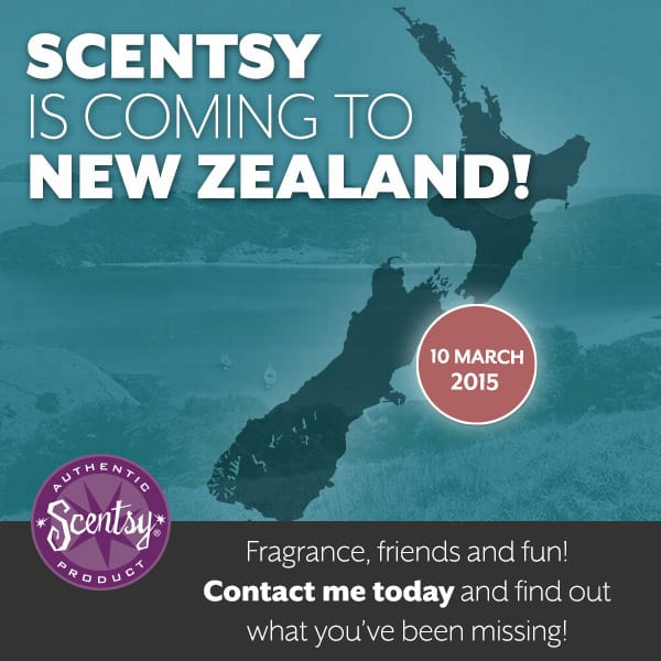 Scentsy Is Launching in New Zealand!