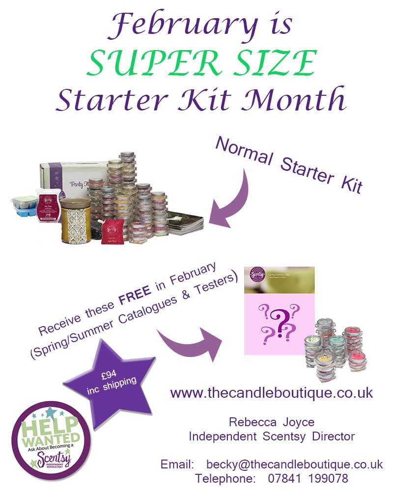 Join Scentsy Starter Offer