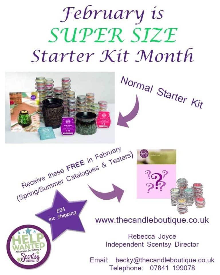 Join Scentsy Super-Size Starter Kit Offer Ending Soon!