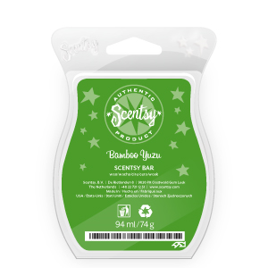 scentsy bamboo yuzu scented wax bar