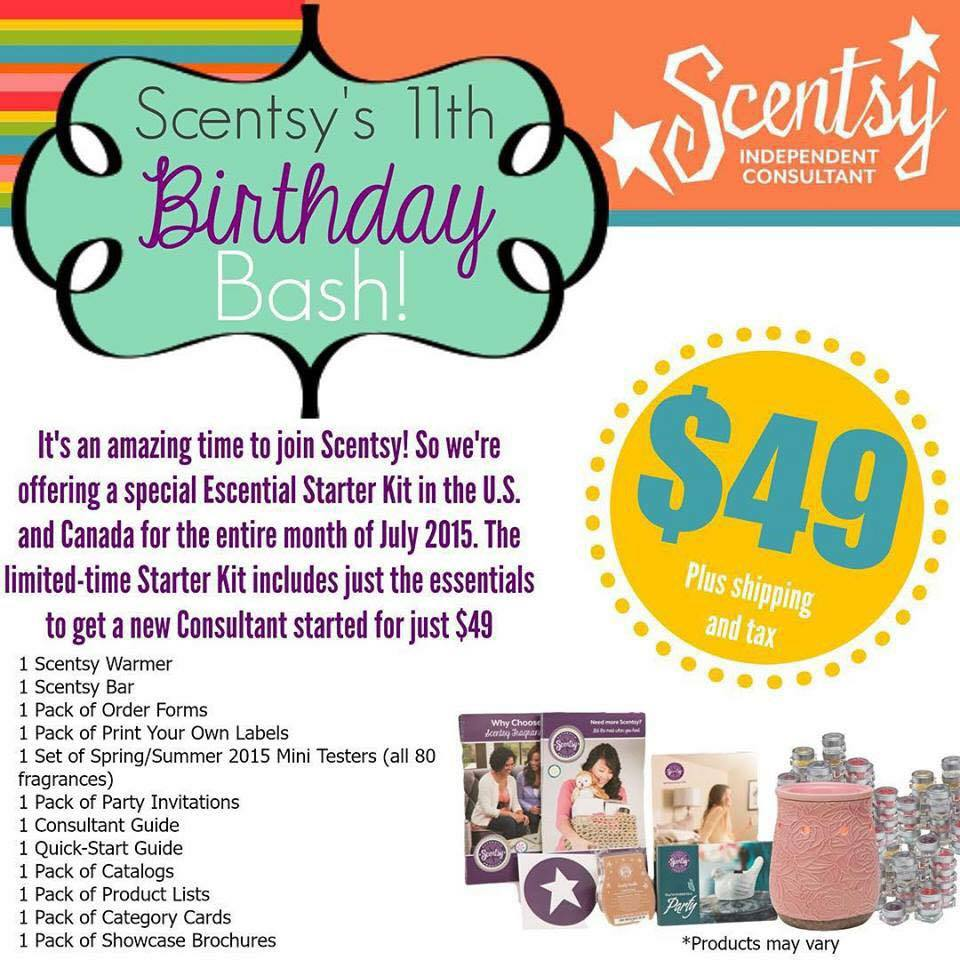 Join Scentsy US joining offer