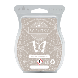 Scentsy Frosted White Birch Scentsy Bar