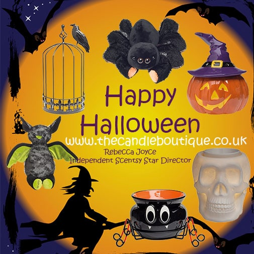 Scentsy Halloween Warmers and Buddies