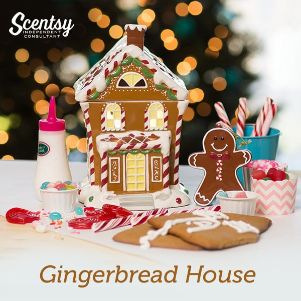 The Most Edible Warmer Has Arrived – Our Scentsy Gingerbread House Warmer!