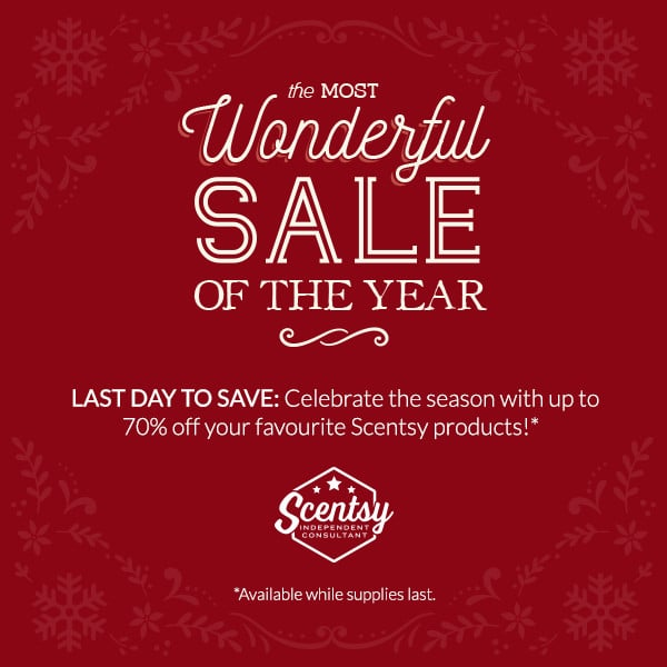 Scentsy UK Sale