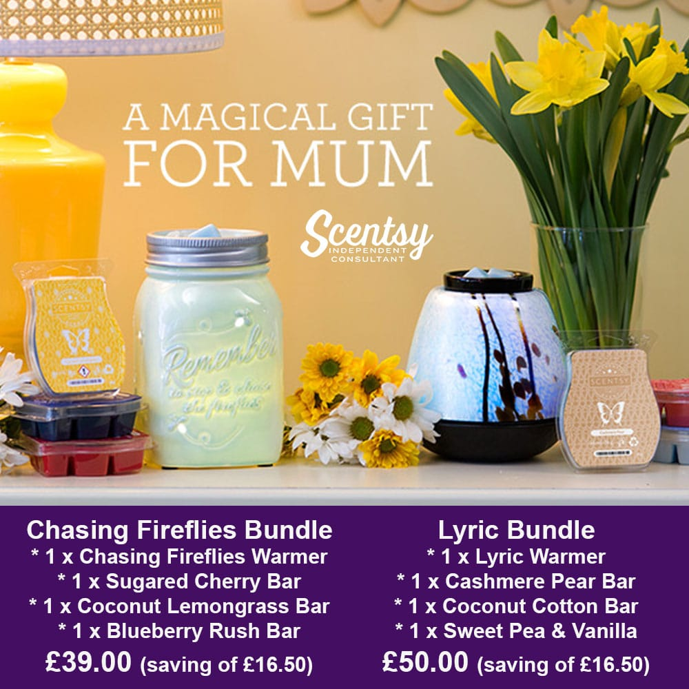 Scentsy Mother's Day Warmer Bundle 2016