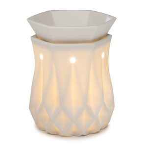 Scentsy alabaster electric warmer