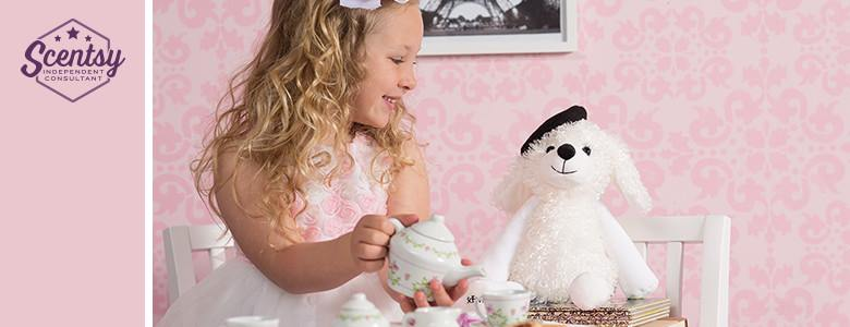Pari The Poodle Dog Scentsy Buddy