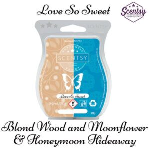 scentsy blond wood and moonflower and honeymoon hideaway mixology recipe