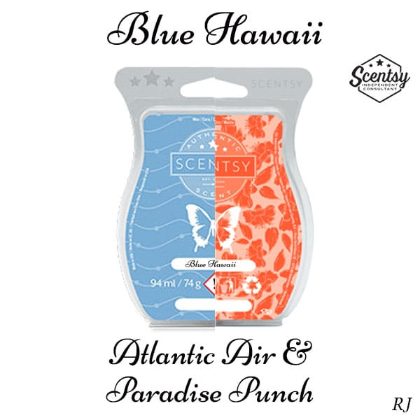Scentsy Atlantic Air and Scentsy Paradise Punch Mixology Recipe