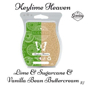 Scentsy Lime and Sugarcane and Scentsy Vanoilla Bean Buttercream Mixology Recipe