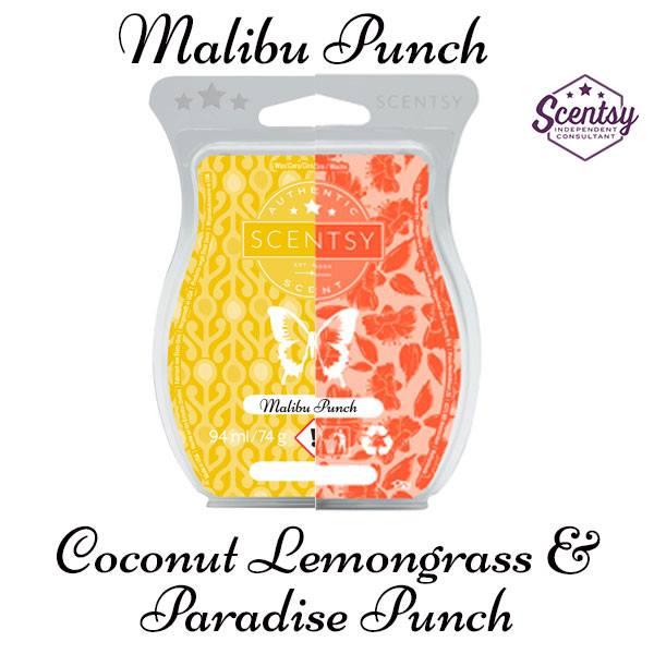 Malibu Punch Scentsy Mixology Recipe Review