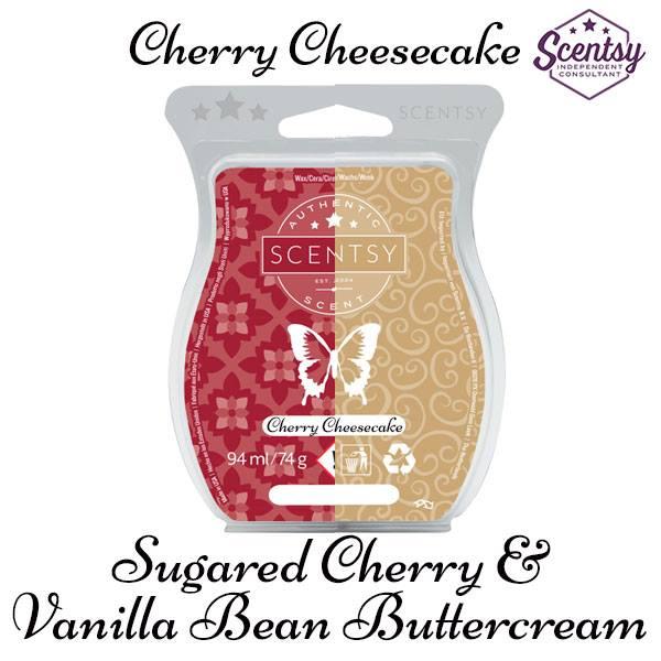 Scentsy sugared cherry and vanilla bean buttercream mixology recipe