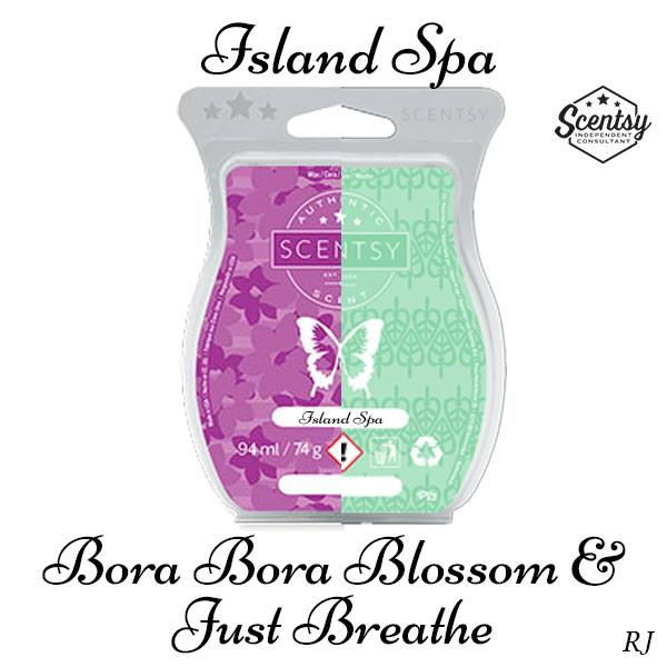 scentsy bora bora blossom and scentsy just breathe mixology recipe