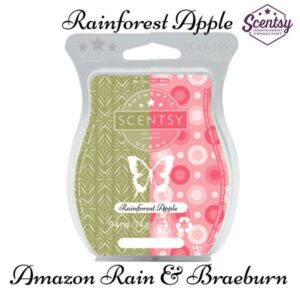 scentsy amazon rain and braeburn mixology receipe