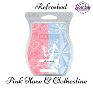 scentsy pink haze and scentsy clothesline mixology recipe