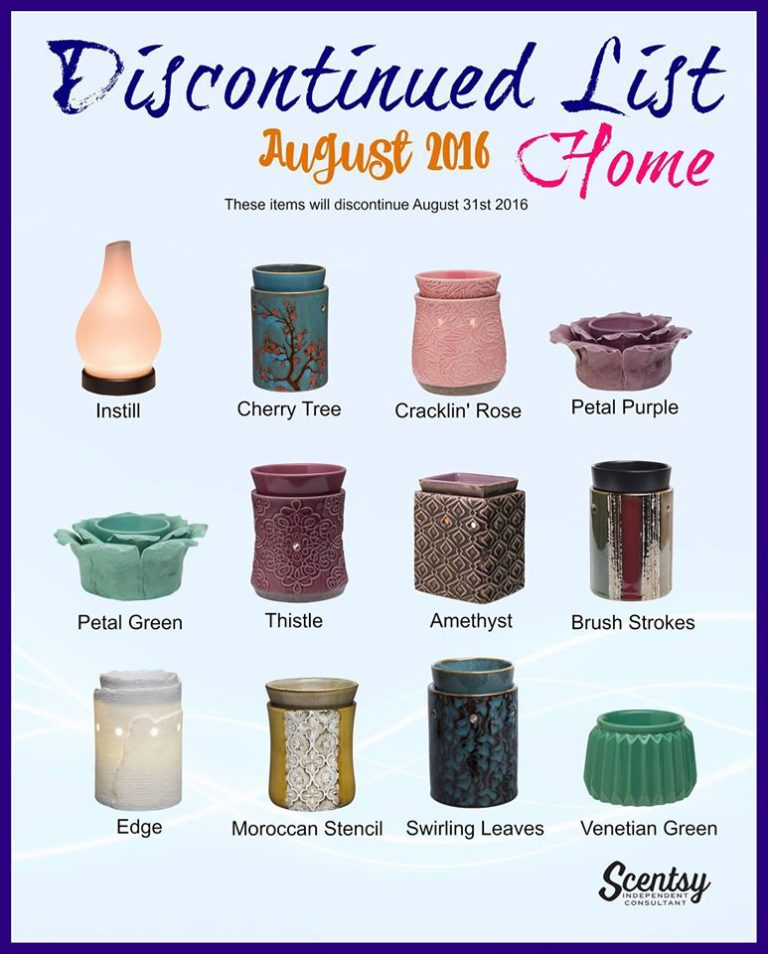 Is Your Favourite Scentsy Scented Wax Being Discontinued?