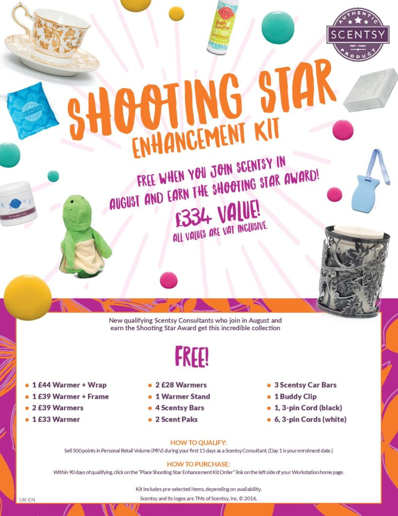 Earn Free Scentsy Products