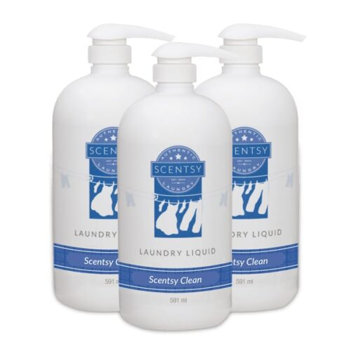 3 Scentsy Laundry Liquid Multi-Pack