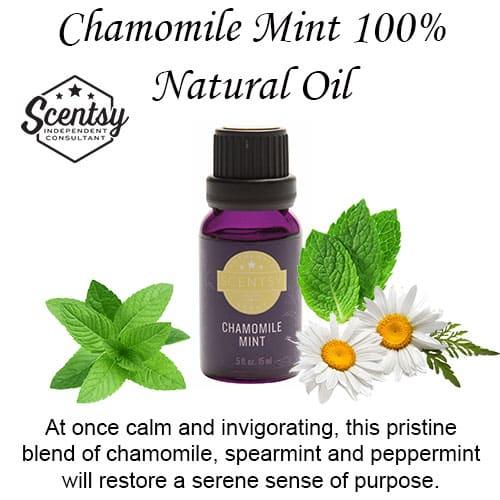 Chamomile Mint Scentsy Diffuser Oil