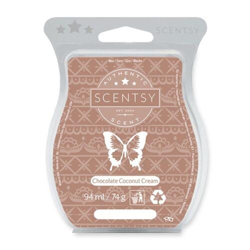 Chocolate Coconut Cream Scensty Bar