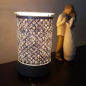 Cream Diamond Scentsy Electric Wax Warmer